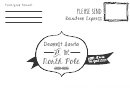 Letter North Pole To Santa Template