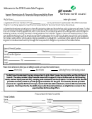Parent Permission & Financial Responsibility Form - Girl Scouts Of North Council - 2018