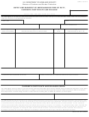 Cbp Form 7523 - Entry And Manifest Of Merchandise Free Of Duty, Carrier's Certificate And Release - Bureau Of Customs And Border Protection U.s. Department Of Homeland Security