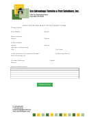 Wood Destroying Insect Report Request Form - Eco Advantage