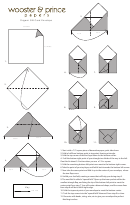 Origami Gift Card Envelope Template