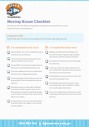 Moving House Checklist - Hire A Mover