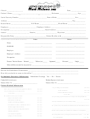 Patient Medical Information Form - Upstate Orthodontics