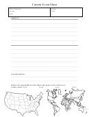 Current Event Sheet