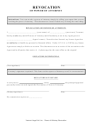 Revocation Of Power Of Attorney Form - Vermont Legal Aid, Inc.