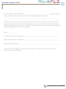 Parental Consent Form - Parla Mer Day Spa