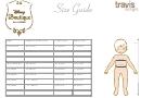 Kids Size Chart - Disney Boutique Collection