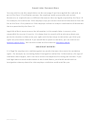 Sample Document Abuse Letter Template