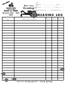 Read-a-thon Elementary Reading Log