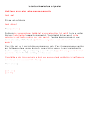 Letter To Acknowledge A Resignation Template