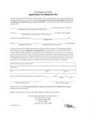 Form Hea 3011 - Application For Adoption File