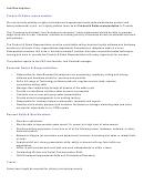 Product And Sales Representative Job Descroption Template