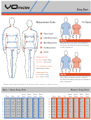Vomax Women/men/youth Sizing Chart