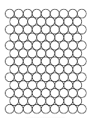 Circle Graph Paper Printable pdf