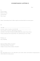 Undertaking Letter For Minor Template - Embassy Of India