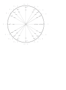 Circle Graph Template Printable pdf