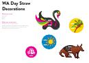 Wa Day Straw Decorations