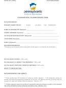 Form Poor-001 - Standard Right-to-know Request Form