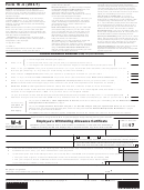 Form W-4 - Employee's Withholding Allowance Certificate