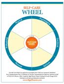 Self Care Wheel Template
