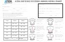 Atek Defense Systems Armor Sizing Chart