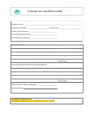 Change Of Address Form - Bcmea