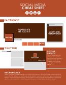 Social Media Cheat Sheet - Brand Yourself