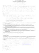 Full Time Custodial/housekeeping Job Description Template