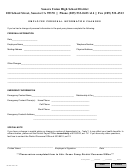 Employee Personal Information Changes Form