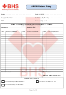 Abpm Patient Diary - Bhs