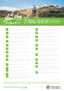25 Things To Do In Summer - Nature Play Sa