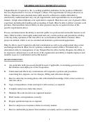 Member Services Representative Job Description Templates