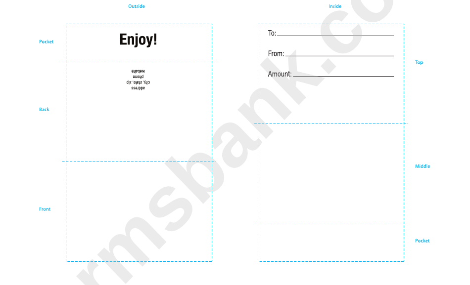 Mail Envelope Template