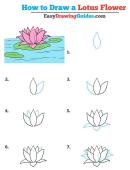 Lotus Flower Template