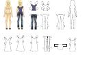 Dollhouse Jeans Template