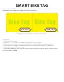 Smart Bike Tag Template