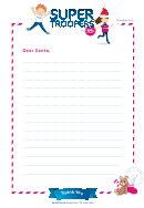 Super Troopers Letter To Santa Template - 2017