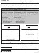 Form Eoir-33 - Alien''s Change Of Address Form/immigration Court - Dallas Immigration Court