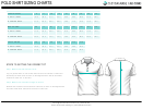 Custom Made Uniforms Polo Shirt Sizing Chart