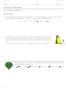 Worksheet 3.8 Related Rates - Calculus Maximus