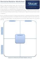 Decisional Balance Worksheet Template - Ultimate Youth Worker