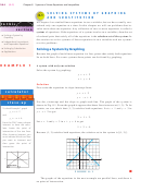 Chapter 8 Systems Of Linear Equations And Inequalities Worksheet With Answers