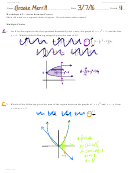 Worksheet 6.2 - Areas Between Curves Worksheets With Answers - Calculus Maximus