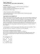 Part 1 Module 3 Venn Diagrams And Survey Problems Worksheet With Answers