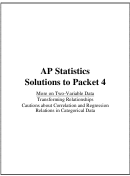 Ap Statistics Worksheets With Answers