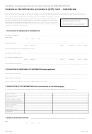 Customer Identification Procedure (cip) Form - Individuals - Australian Transaction Reports And Analysis Centre