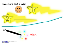 Two Stars And A Wish Review Sheet Templates