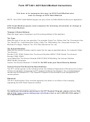 Form Eft-001 - Electronic Funds Transfer Authorization Agreement For Ach Debit Payment Method