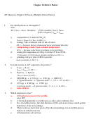 Ap Chemistry Chapter 16 Multiple Choice Quiz Review With Answers - Malea Mullins, University School Of Jackson