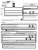 Form Msa-43 - Subscriber Claim Form
